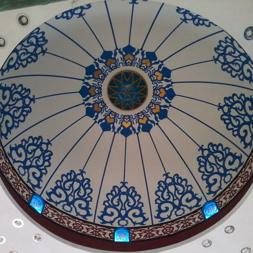 plafon kubah masjid plafon kubah