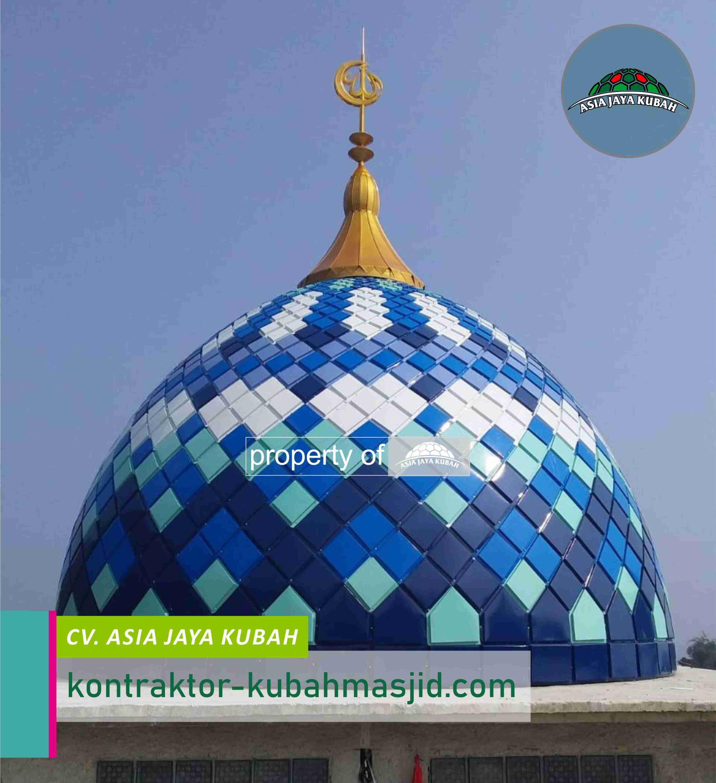 Pembuat Kubah Masjid Galvalum di Kumurkek