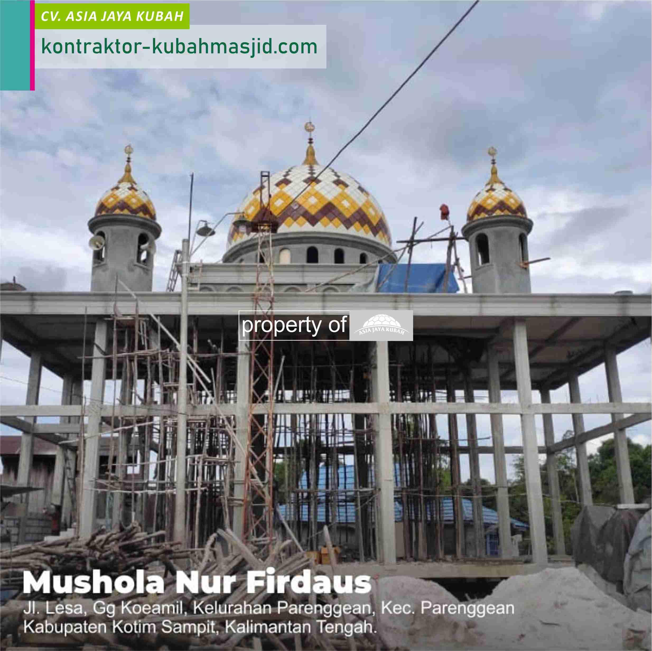 Jual Kubah Masjid Stainless Steel di Trenggalek