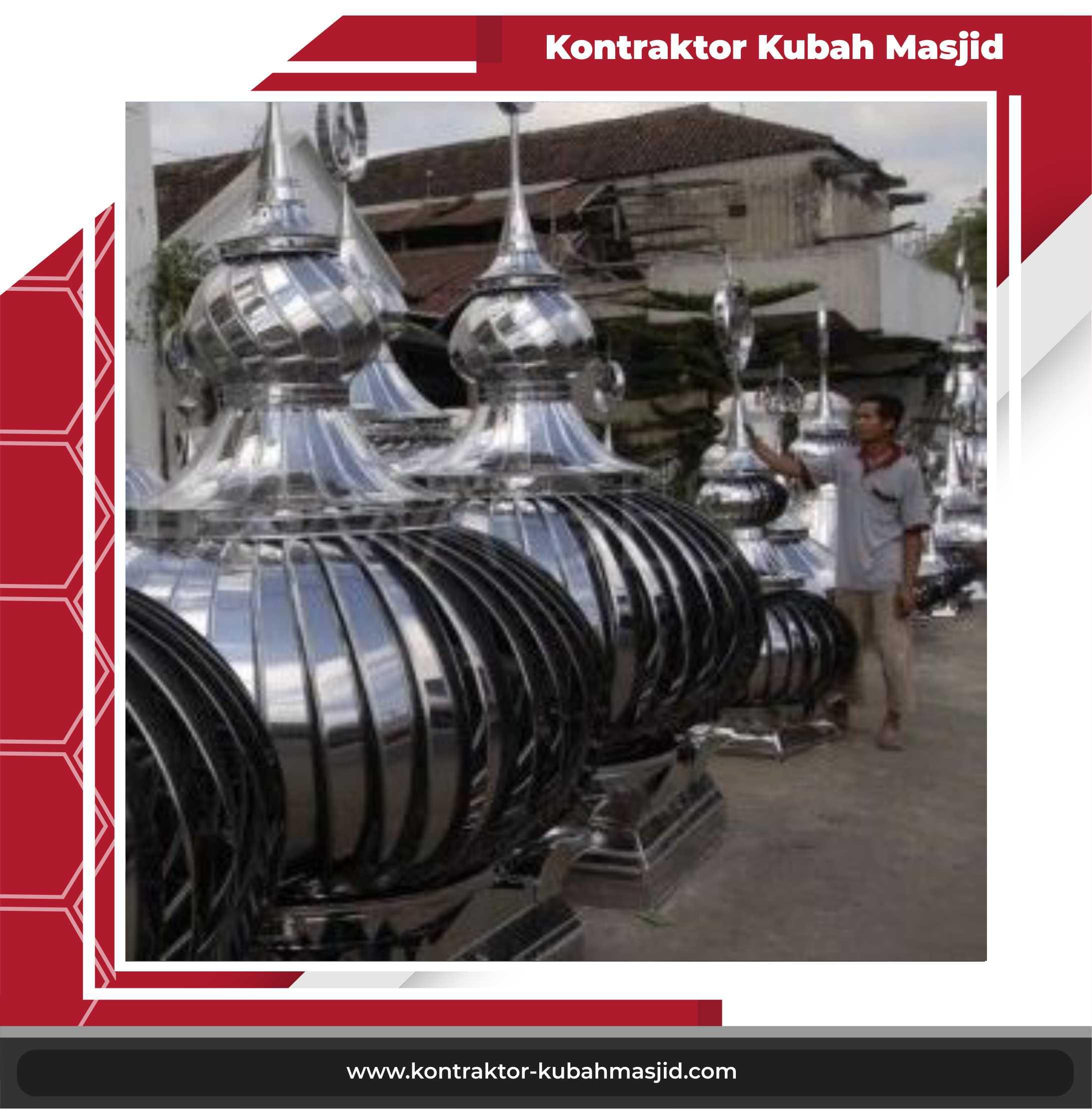kubah stainless steel